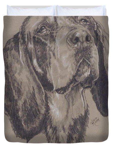 Bluetick Coonhound Duvet Cover
