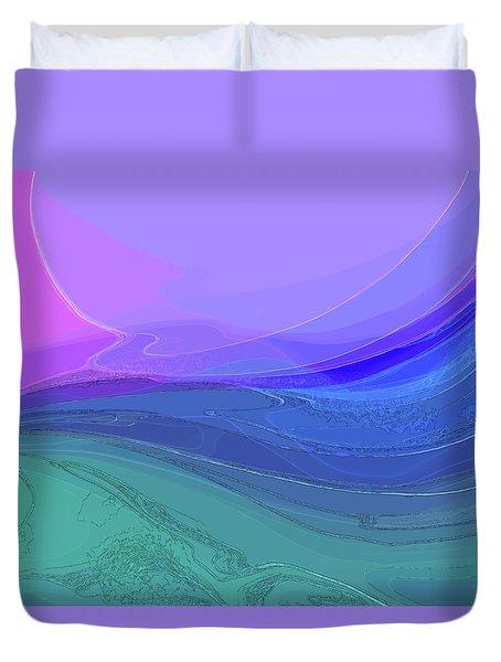 Blue Valley Duvet Cover