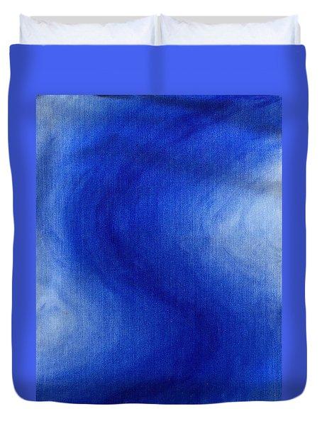 Blue Vibration Duvet Cover