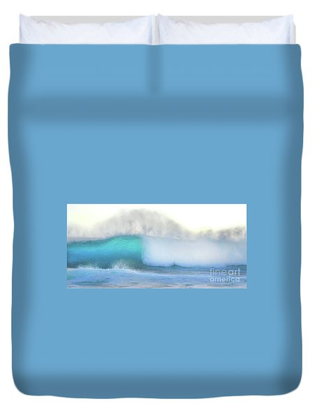 Blue Wave Duvet Cover
