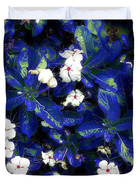 Blue White I Duvet Cover