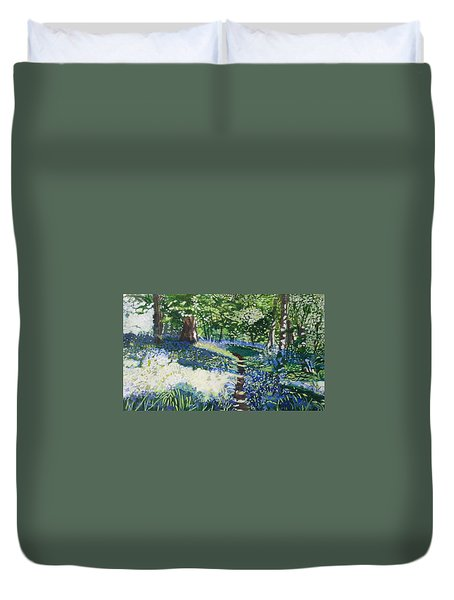 Bluebell Forest Duvet Cover