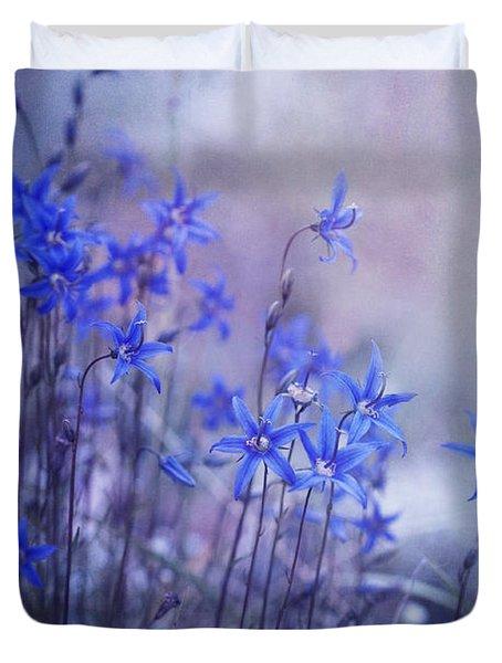 Bluebell Heaven Duvet Cover