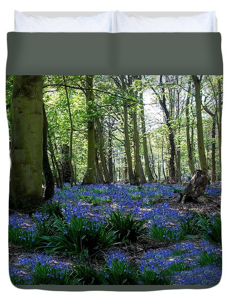Bluebell Woods Duvet Cover