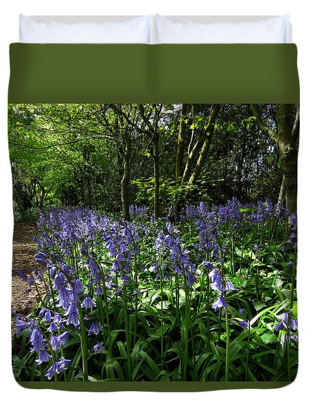 Bluebells3 Duvet Cover