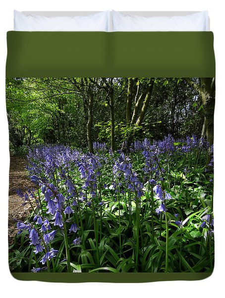 Bluebells4 Duvet Cover
