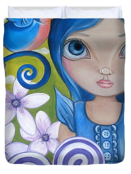 Blueberry Duvet Cover by Jaz Higgins