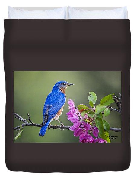 Bluebird Beauty Duvet Cover