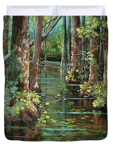 Bluebonnet Swamp Duvet Cover