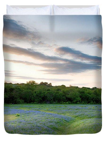 Bluebonnet Trail Ennis Texas 2015 V5 Duvet Cover