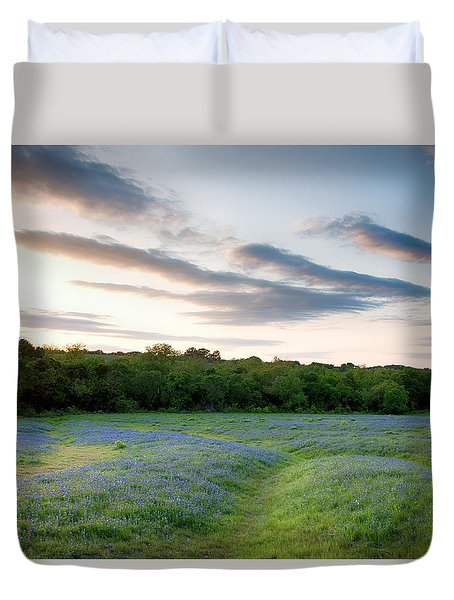 Bluebonnet Trail Ennis Texas 2015 V5 Duvet Cover
