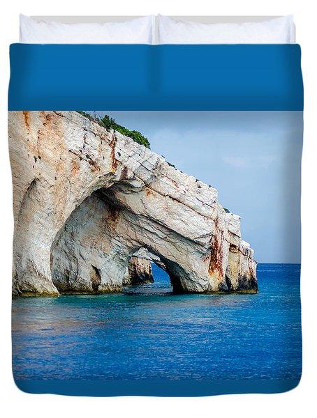 Bluecaves 3 Duvet Cover