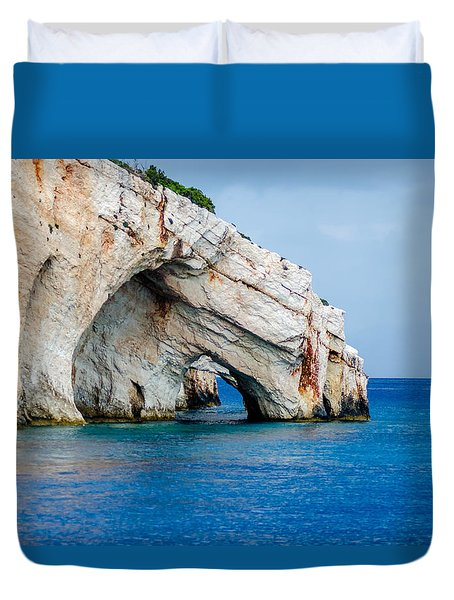 Bluecaves 3 Duvet Cover