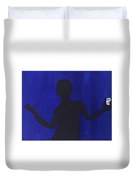 Blued Duvet Cover by Joshua Maddison