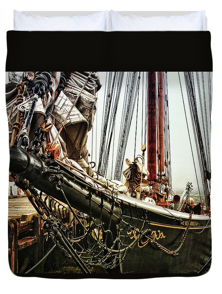 Bluenose Duvet Cover