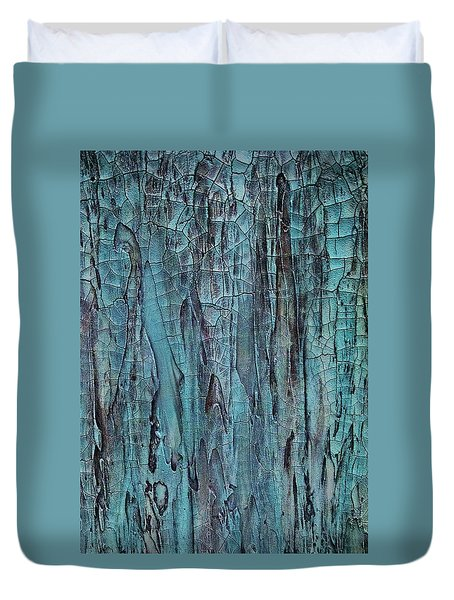 Blues In Motion Duvet Cover