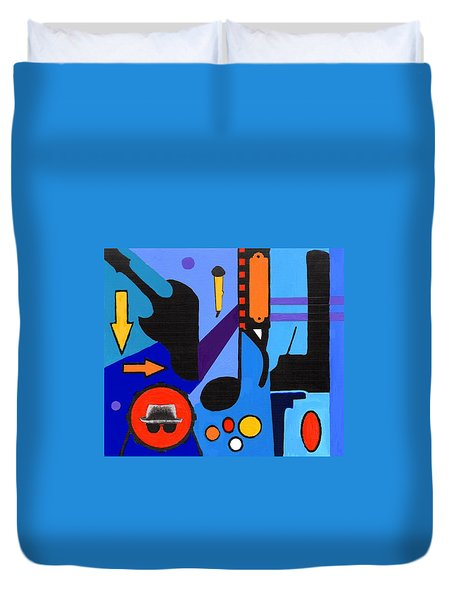Blues1 Duvet Cover