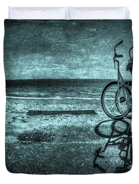 Bluescape Duvet Cover by Evelina Kremsdorf