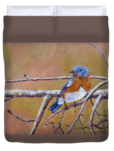 Bluey Duvet Cover by Dan Wagner