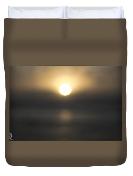 Blurred Sun Duvet Cover