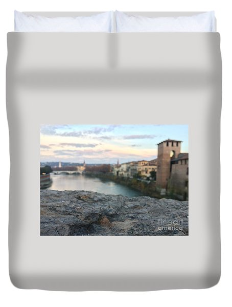 Blurred Verona Duvet Cover