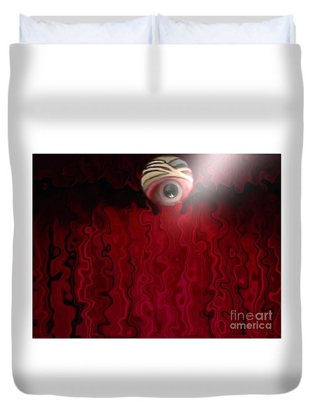Blurred Vision Duvet Cover