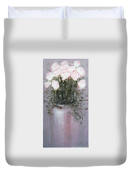 Blush - Original Artwork Duvet Cover