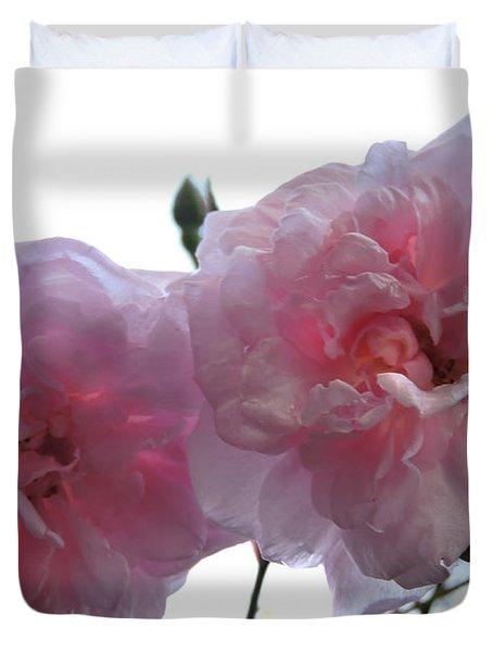 Blushing Beauties Duvet Cover