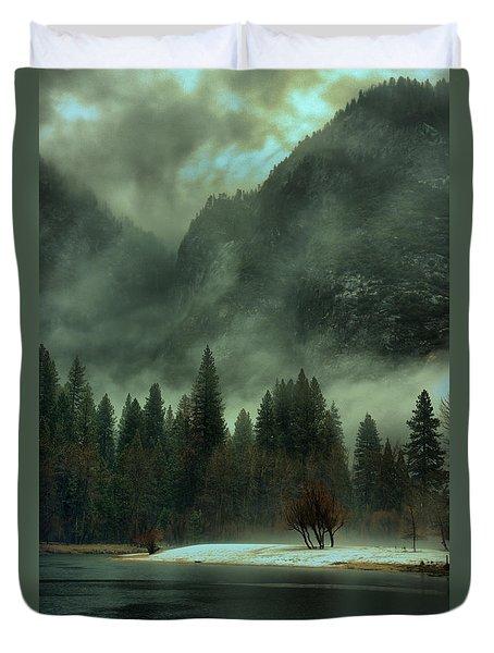 Blustery Yosemite Duvet Cover