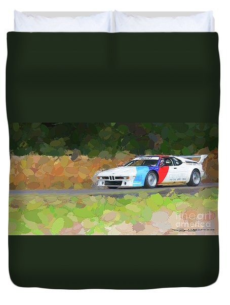 Bmw M1 Duvet Cover
