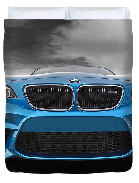 Bmw M2 Coming At You Duvet Cover