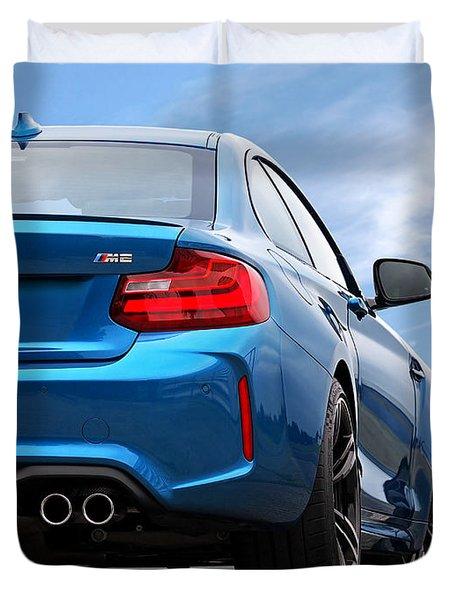 Bmw M2 Rear Duvet Cover
