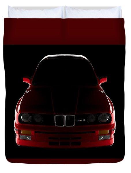 Bmw M3 E30 - Front View Duvet Cover