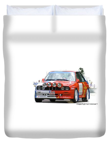 Bmw M3 Group A Duvet Cover