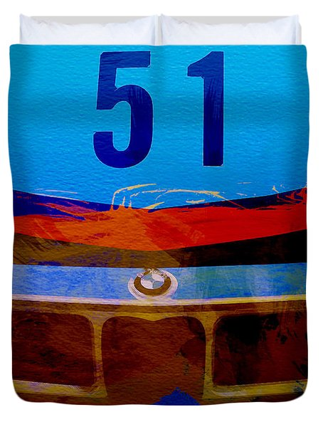 Bmw Racing Colors Duvet Cover