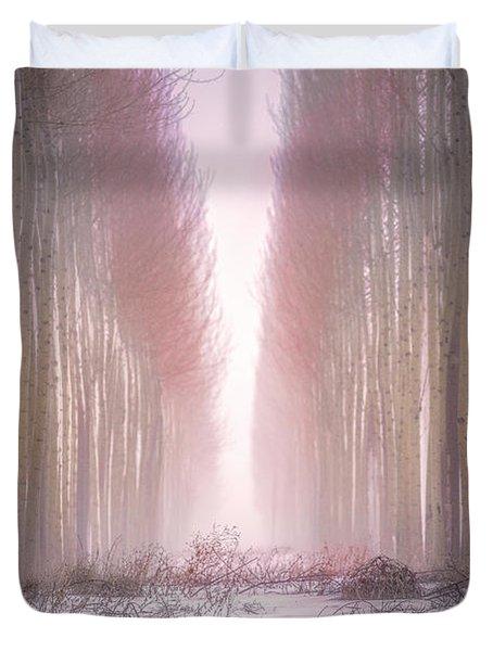 Boardman Tree Farm  Duvet Cover