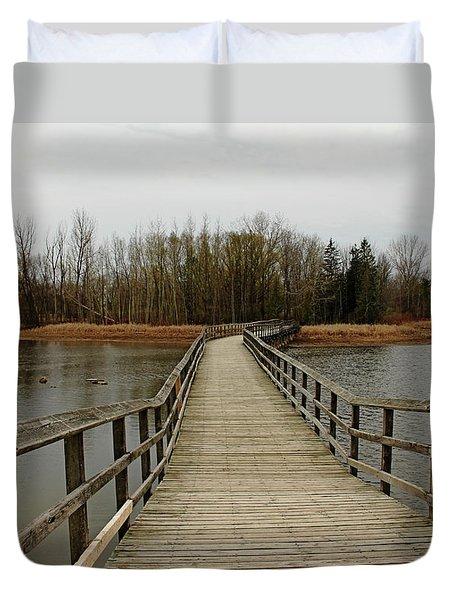 Boardwalk Duvet Cover