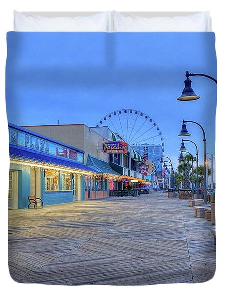 Boardwalk Duvet Cover