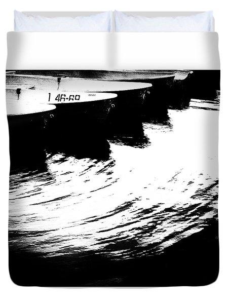 Boat #1 4669 Duvet Cover