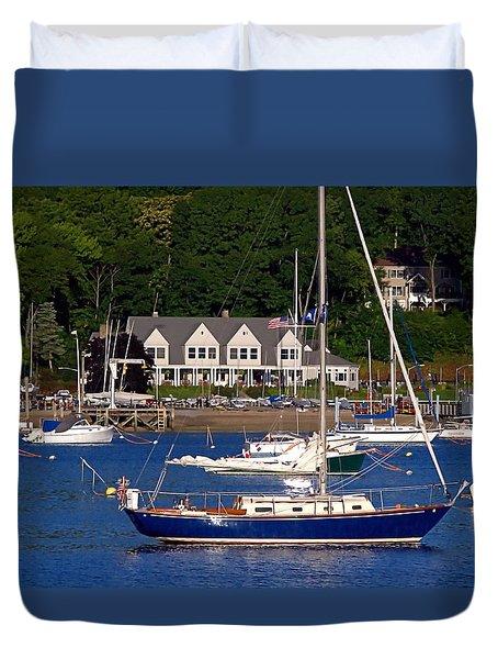 Boat House Duvet Cover