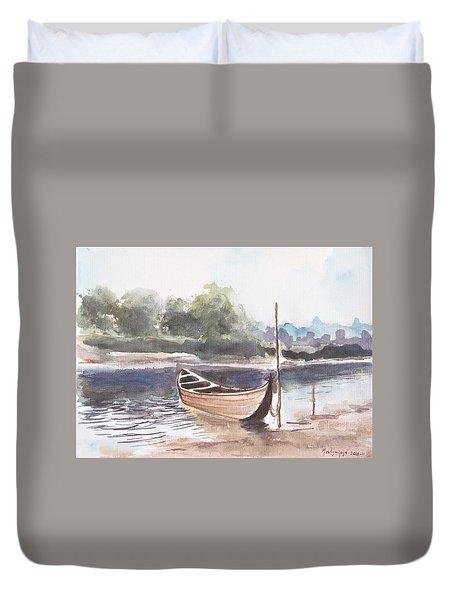 Boat Ride Duvet Cover