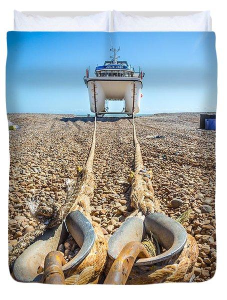 Boat Ropes. Duvet Cover