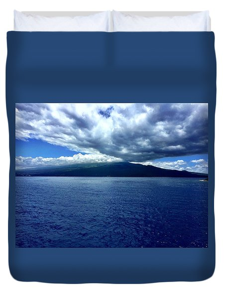 Boat View 2 Duvet Cover