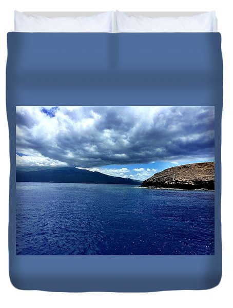 Boat View 3 Duvet Cover