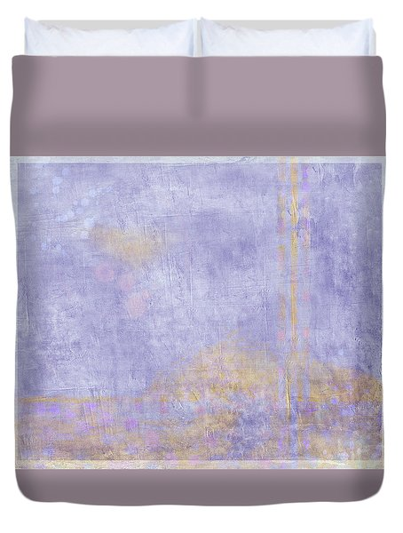 Duvet Cover featuring the photograph Boat Yard 2 by Carol Leigh