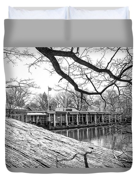 Boathouse Central Park Duvet Cover