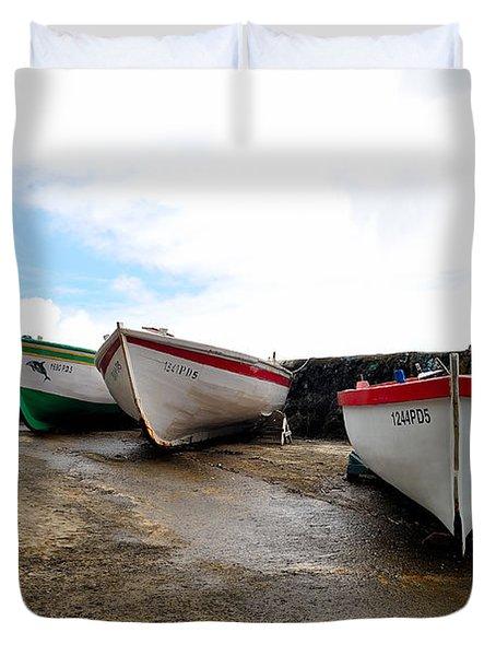 Boats,fishing-24 Duvet Cover