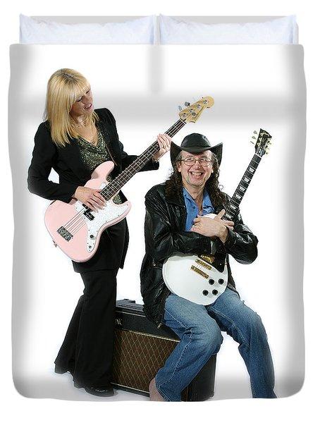 Bob And Theresa Kaat-wohlert Duvet Cover