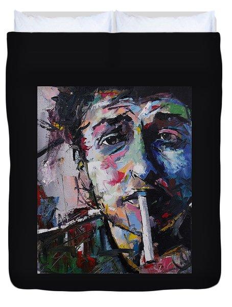 Bob Dylan Duvet Cover by Richard Day