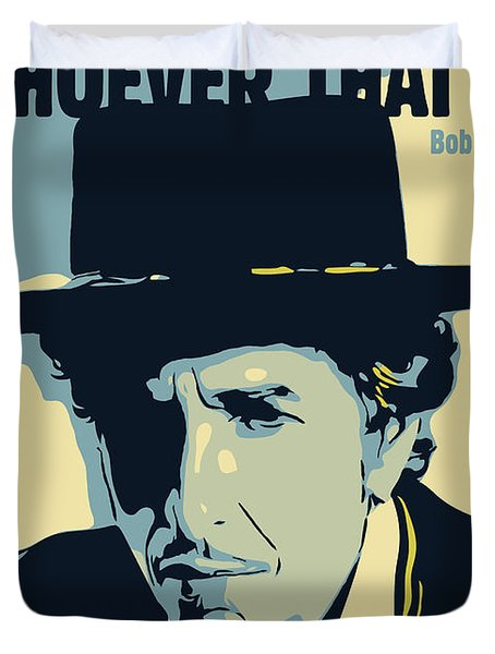 Bob Dylan Duvet Cover by Greatom London
